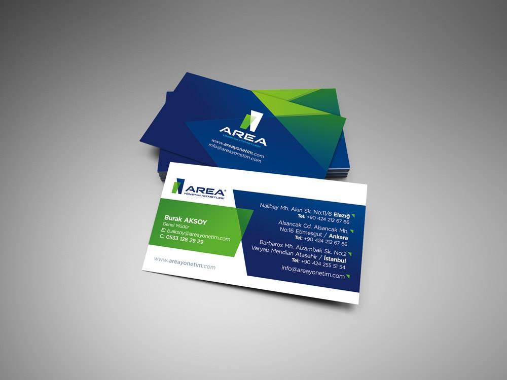 area yonetim hizmetleri kartvizit