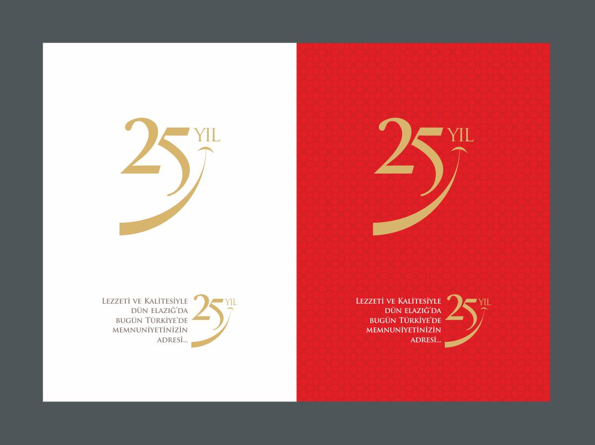 assa yemek 25 yil logosu