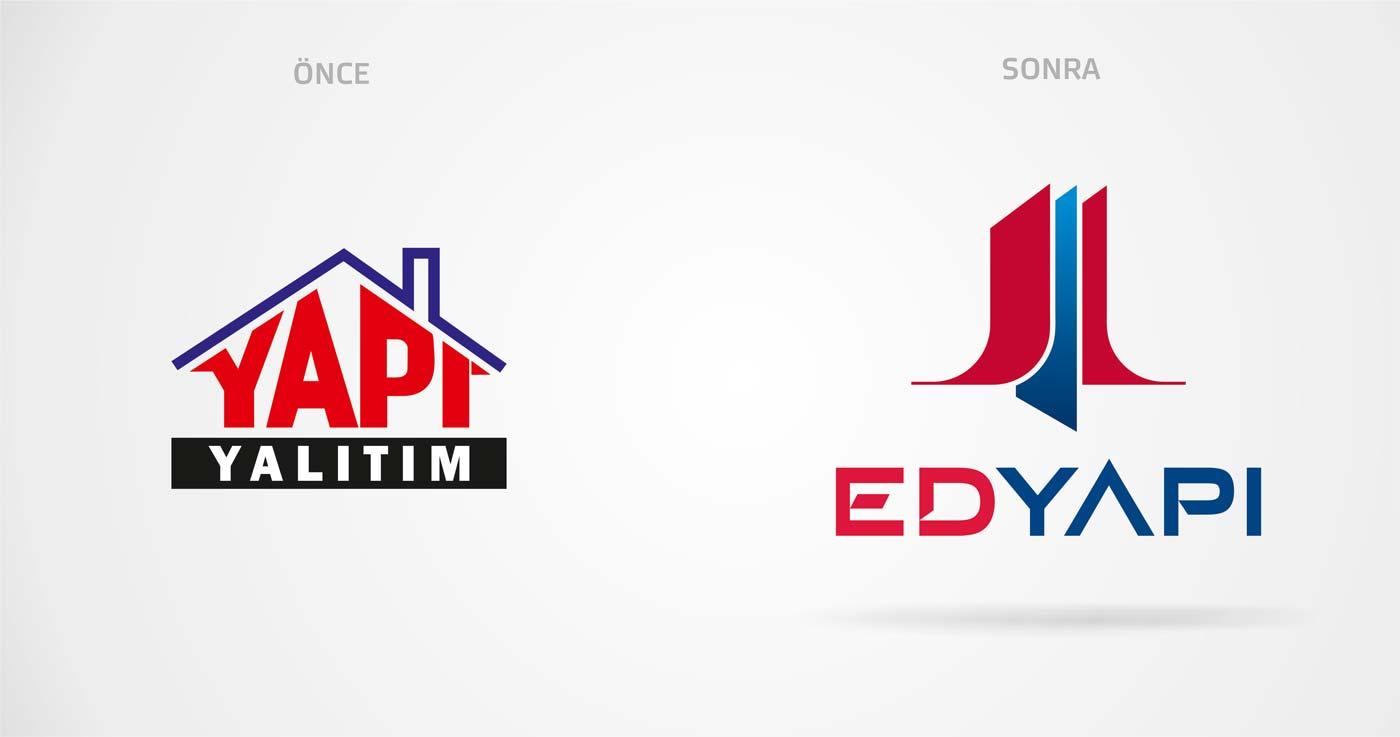 ed yapi logo revizyonu