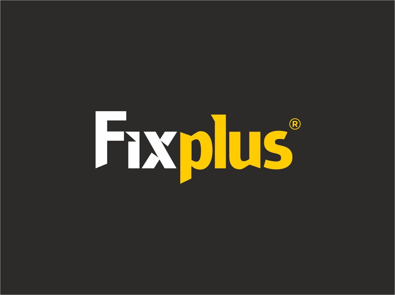 fixplus logo koyu zeminde kullanimi