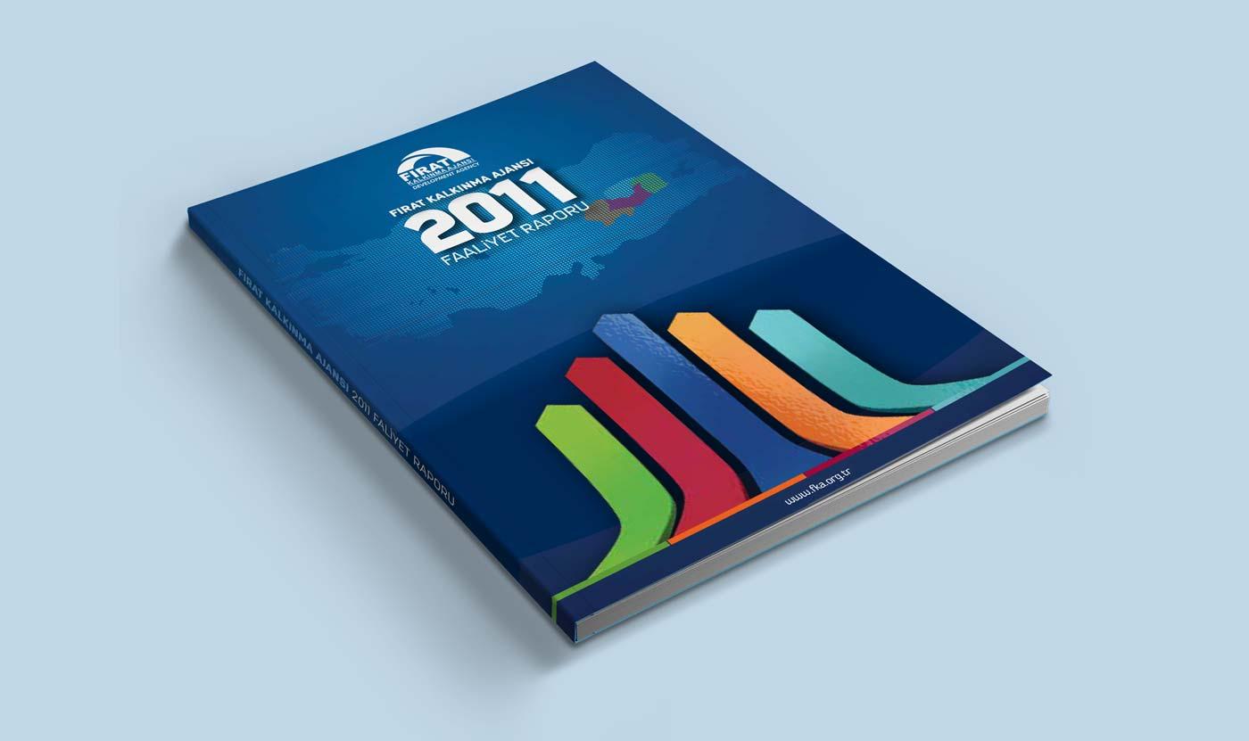 firat kalkinma ajansi 2011 faaliyet raporu tasarimi