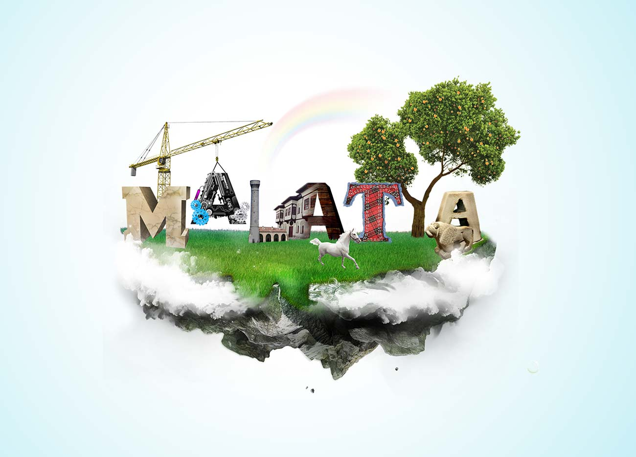 malatya turizm illustrasyon