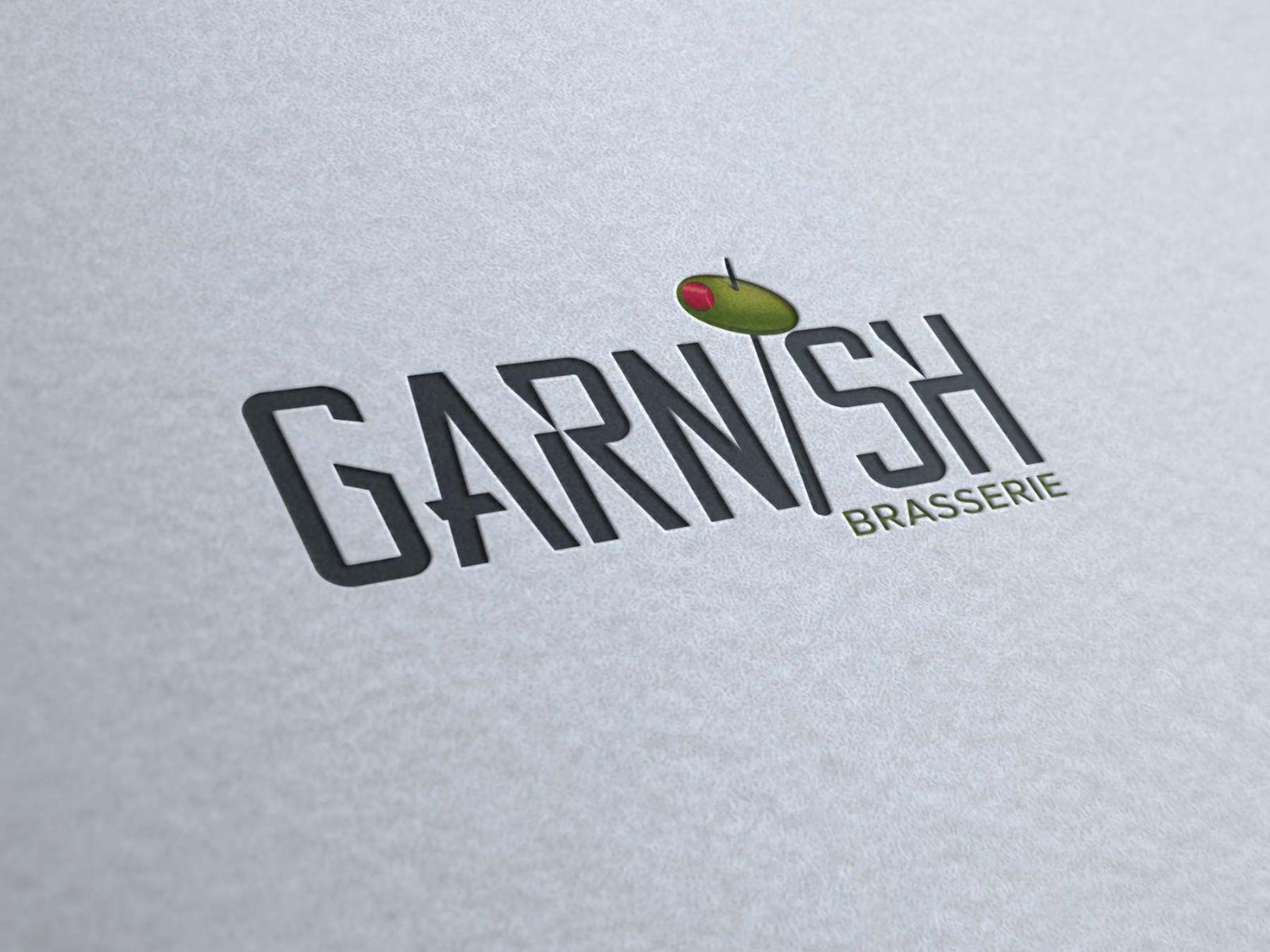 garnish logo renkli