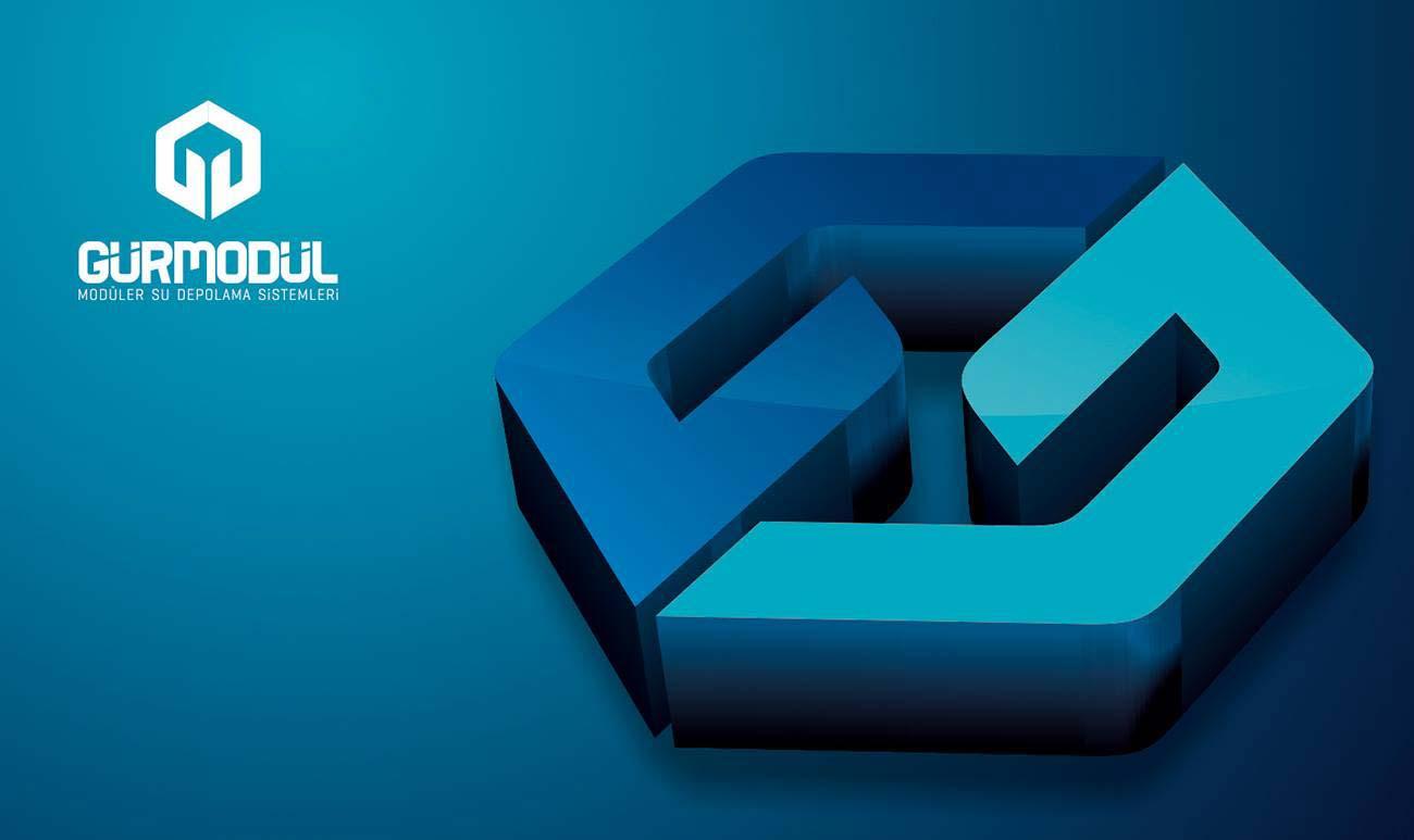 gur modul logo 3d