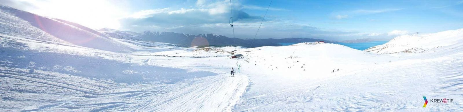 hazarbaba kayak merkezi panoramik fotograf cekimi kreactif