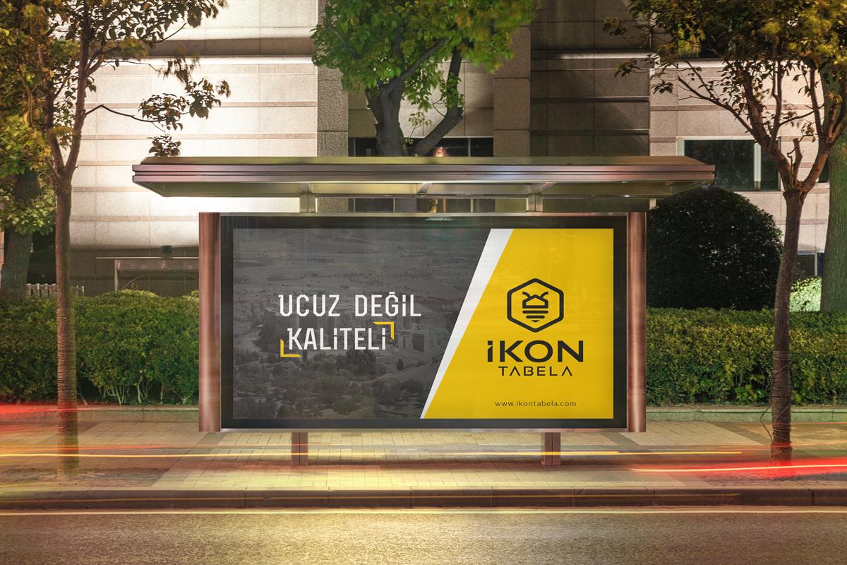 ikon tabela billboard
