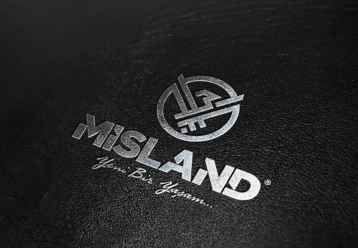 misland logo maket
