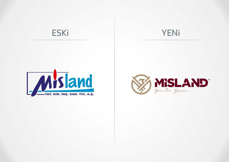 misland logo revizyonu