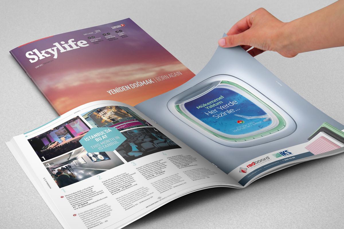 redboard enekar skylife dergi ilani