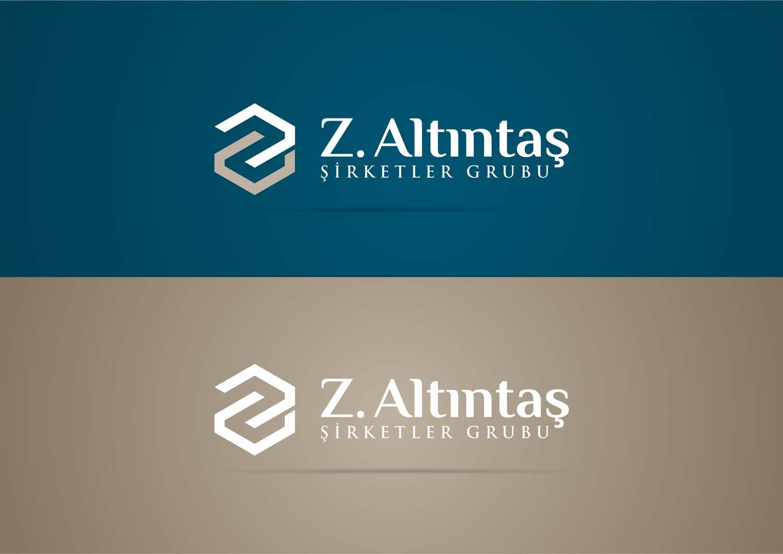 z altintas logo tasarimi zeminli